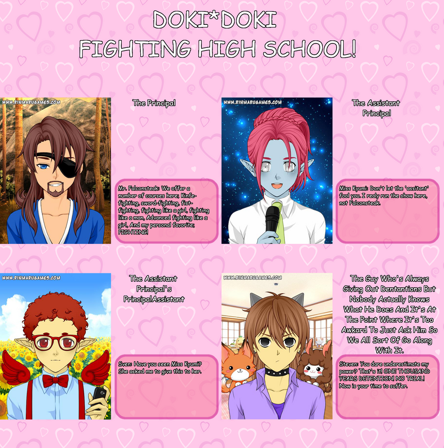 Doki*Doki Fighting High School! Faculty Edition! by Mr-M7