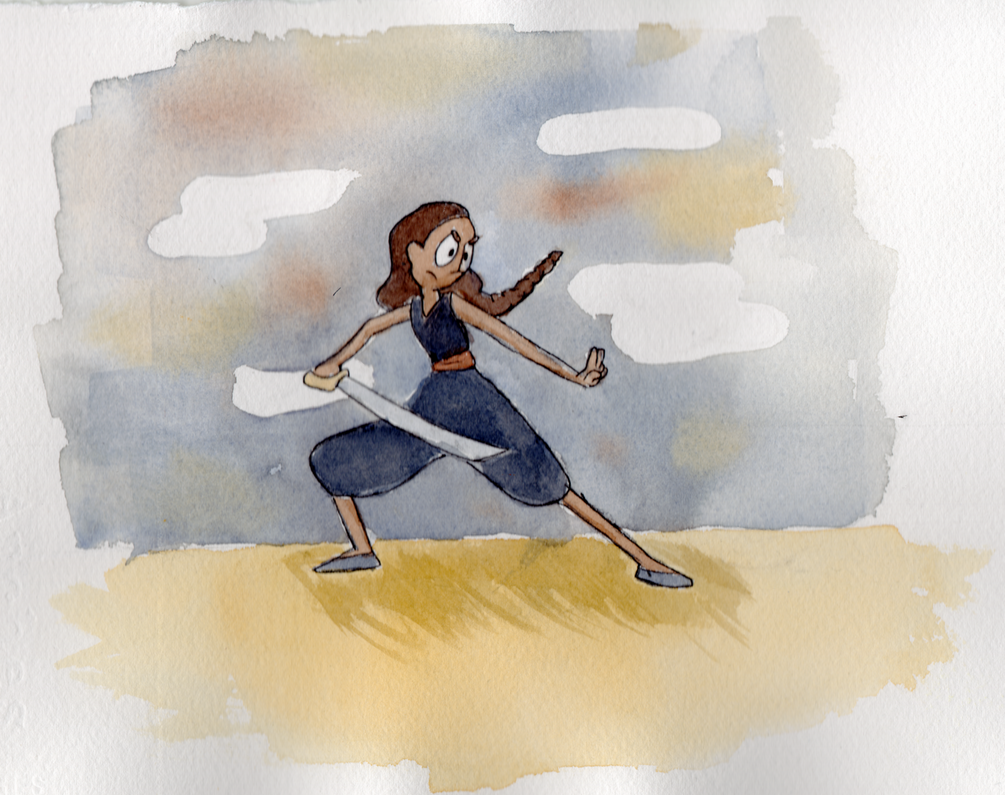 Sword fighter Connie by Mr-M7