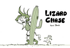LIZARD CHASE cover