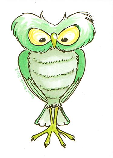 Owltober 2nd by saffronscarf