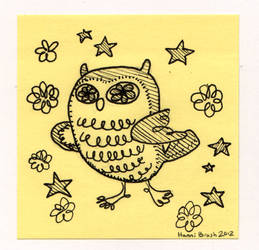Owltober 3rd by saffronscarf