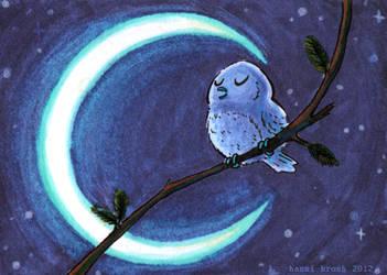 Owltober 4th by saffronscarf