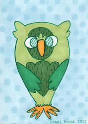 Owltober 7th by saffronscarf