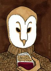 Owltober 8th by saffronscarf