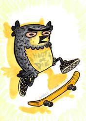 Owltober 10th by saffronscarf