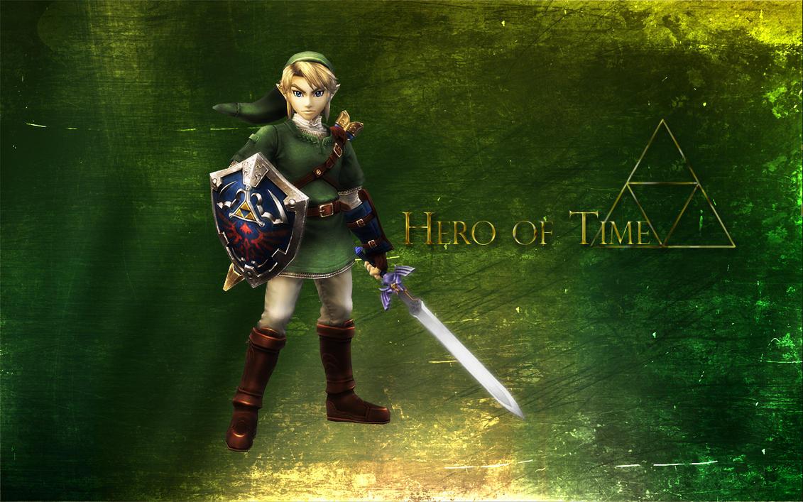 Hero of Time Link Wallpaper by kurama805 on DeviantArt