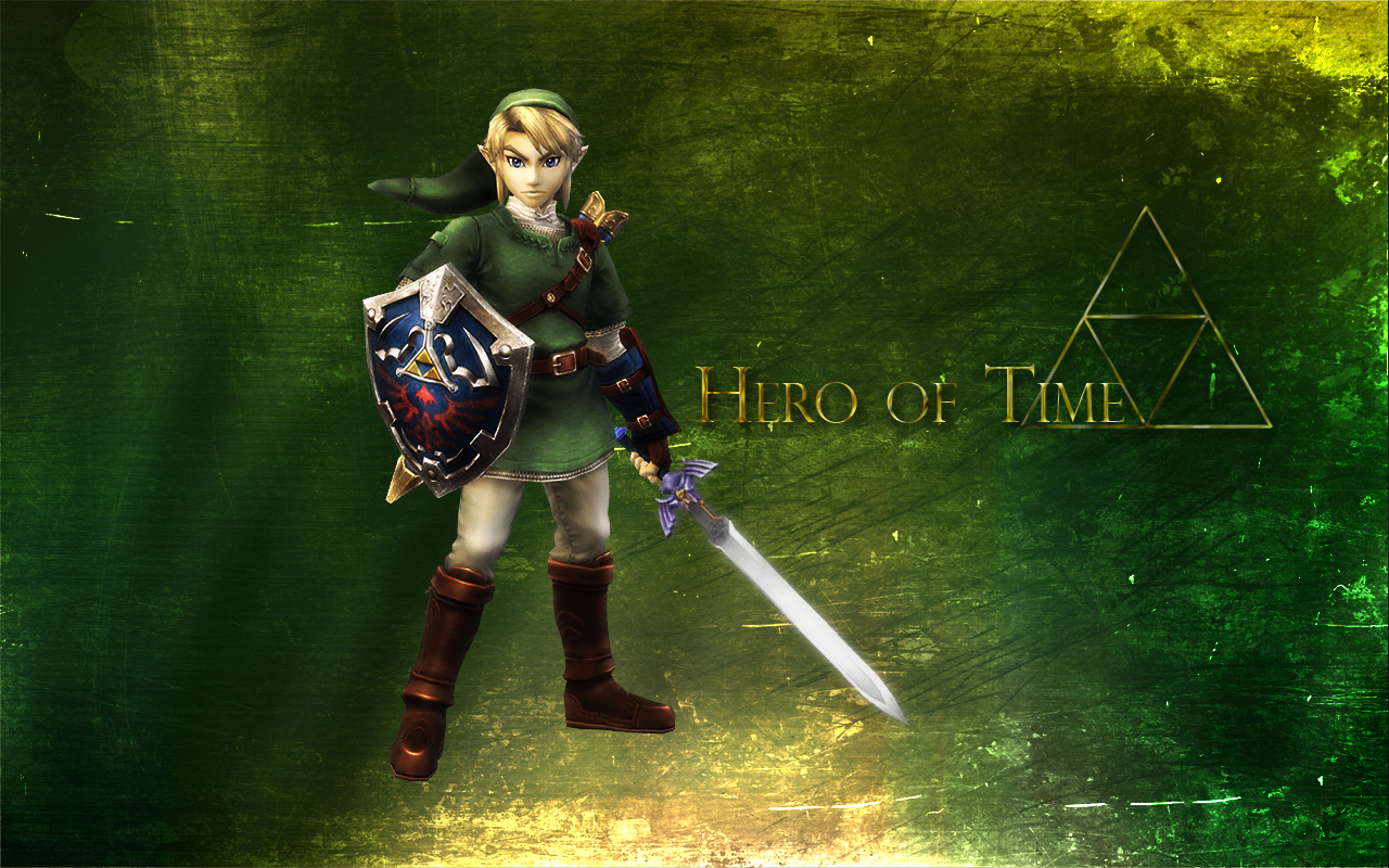 Hero of Time - Link Wallpaper
