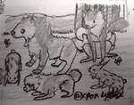 Hunting- Phenaroo by Little-Miss-Eevee