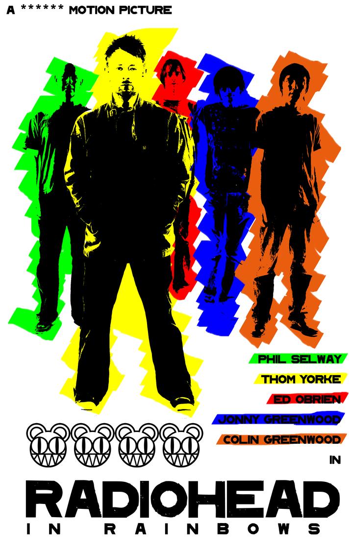 Radiohead Tour Poster