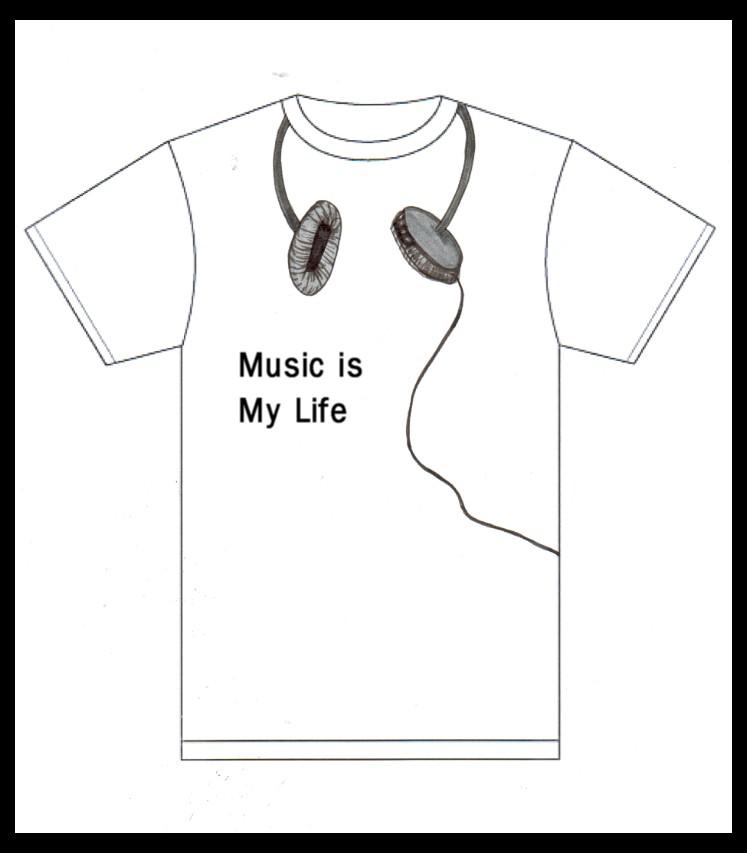 T-shirt Design 002 by americanredhead2