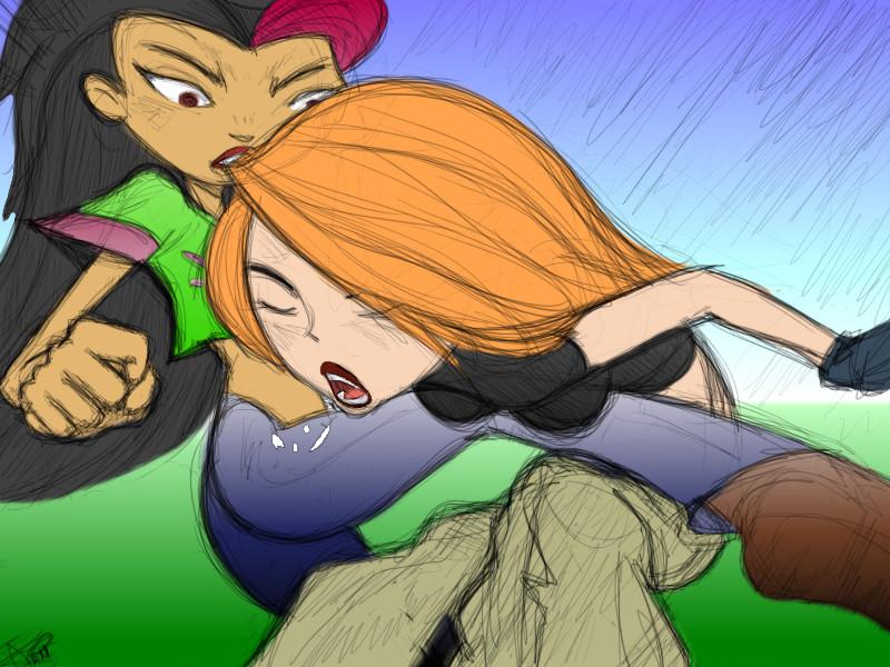 Kim vs juniper by PuppyloveBrandy