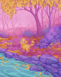 Colorful Nature 3/3 by Leharc--BlueHeart
