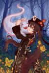 Hu Tao FanArt Hug