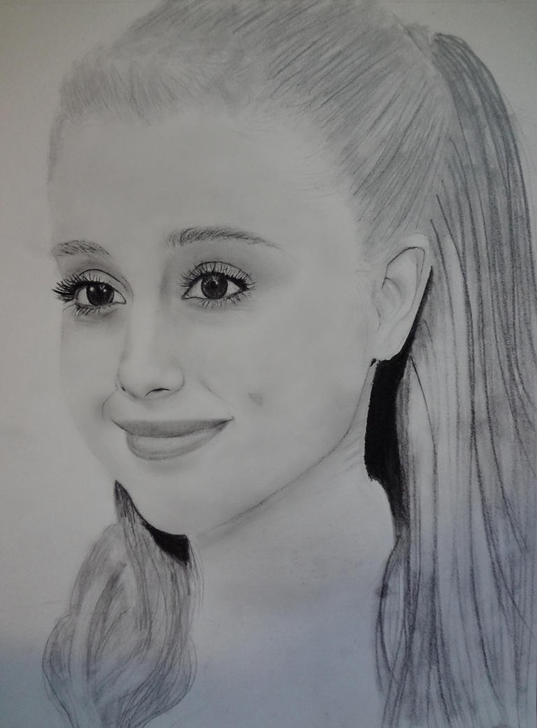 Pencil drawings of ariana grande ariana grande wip by rxoxo
