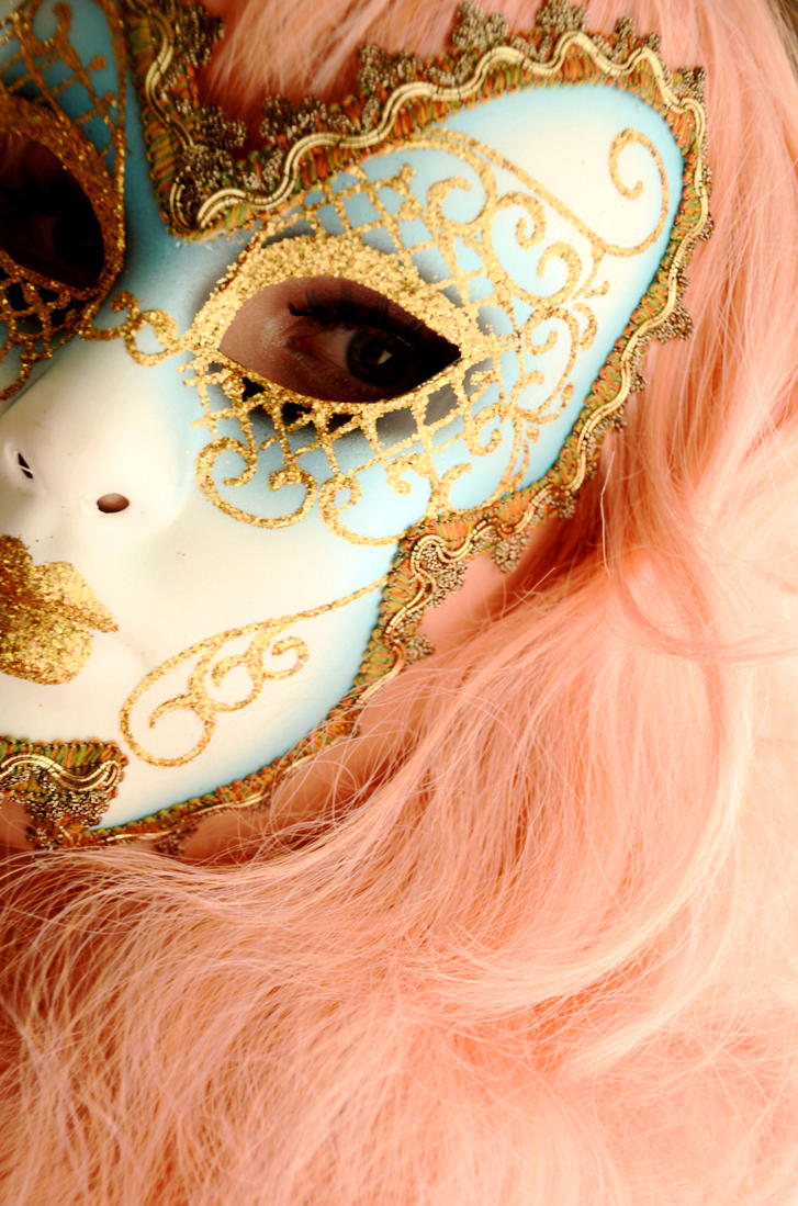 Venetian mask by Kifia