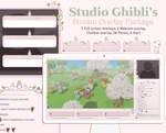 Pixel Ghibli Studio Ghibli's Stream Overlay Pack
