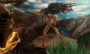 Half demon wars by Anlyness