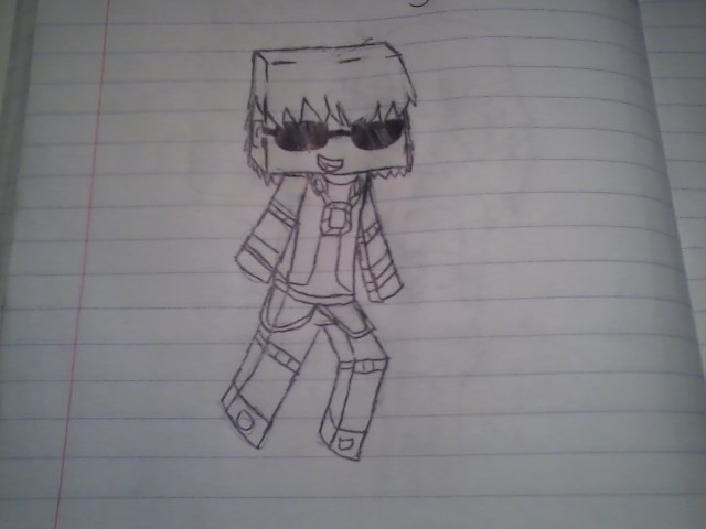 deadlox minecraft coloring pages - photo#28