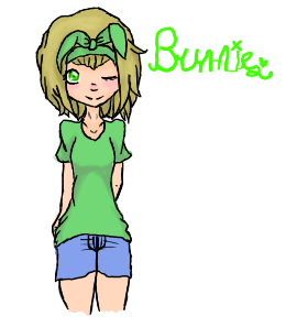Bunnie (Aka me) by Sakura-the-fox