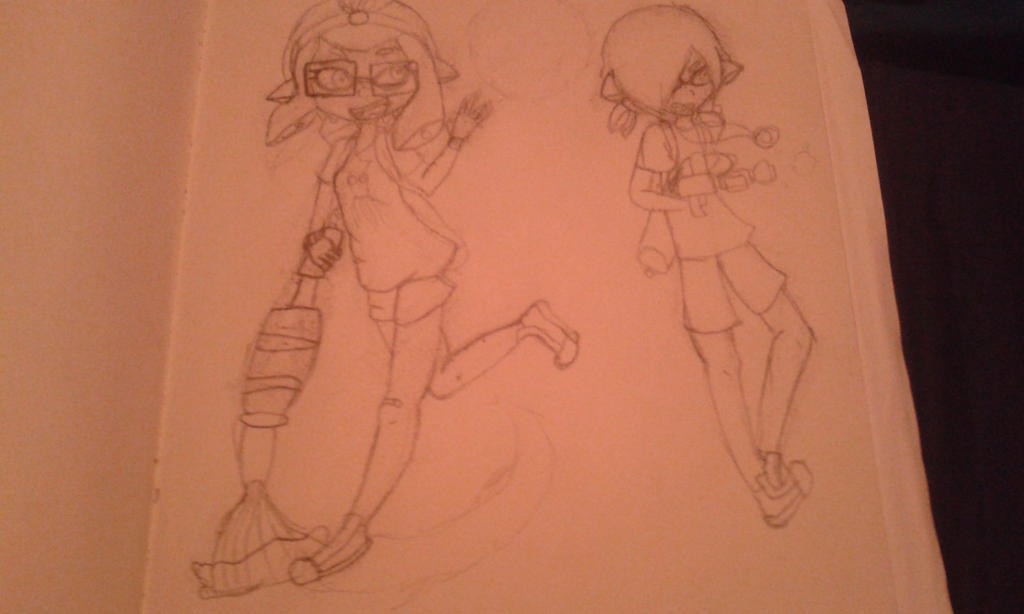 Splatoon WIP by Sakura-the-fox