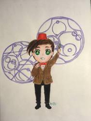 The Eleventh Doctor by RanRanArtish