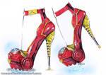 Ironman inspired heels