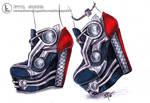 Thor inspired heels