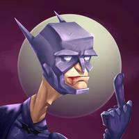 Batman by shchetochkin