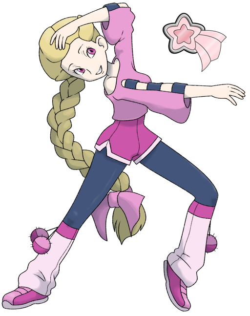 Female pokemon gym leaders — photo 6