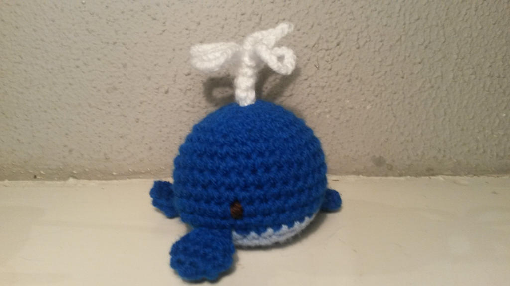 Amigurumi Today Whale : Amigurumi whale by sylver on deviantart