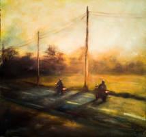 Evening riding by Ng-art01