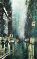 Rainy Evening  by Ng-art01