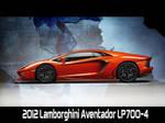 2012 Lamborghini Aventador WP