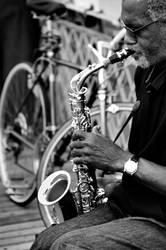 Jazz on The Brooklyn Bridge by somebody3121