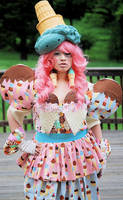 Alexandra Icecreamoutfit by AlexandraMetalClown