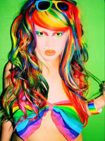 Alexandra Bow Bra by AlexandraMetalClown