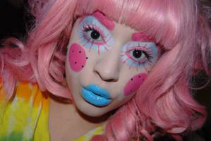 Alexandra Merino-pink hair by AlexandraMetalClown