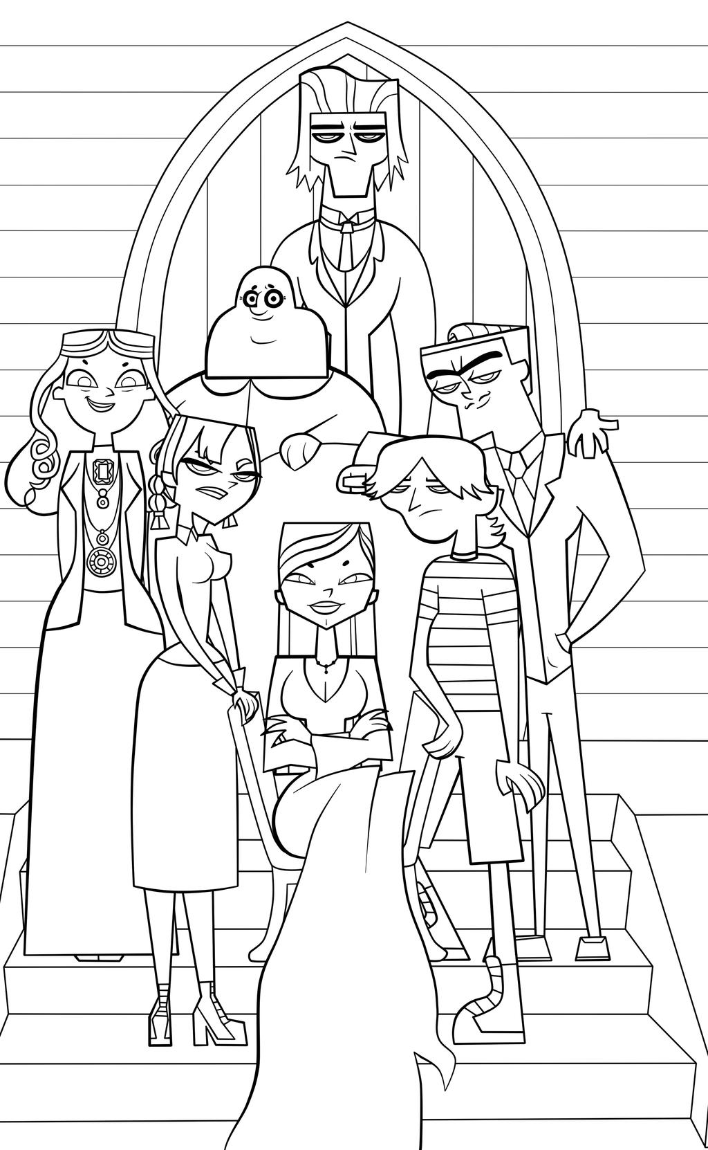Wednesday Addams Family Coloring Pages Coloring Pages