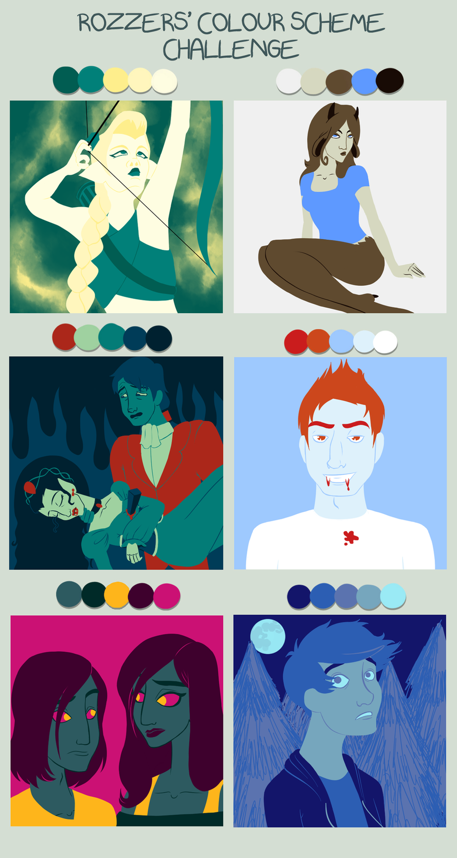 Colour Meme by DisneyWiz