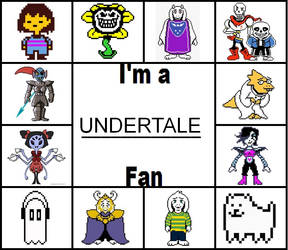 I'm a UNDERTALE fan