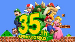 Happy 35th Anniversary Super Mario Bros.