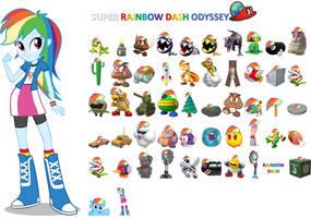 Super Rainbow Dash Odyssey Capture List