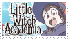 Little Witch Academia stamp by nikukurin