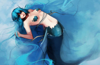 Ttd: Blue Water Blue Sky by ippus