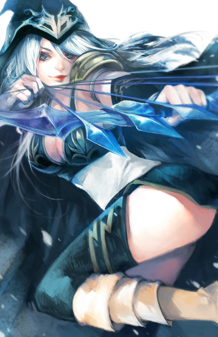 LoL: Ashe the Frost Archer by ippus