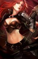LoL: Katarina the Sinister Blade by ippus
