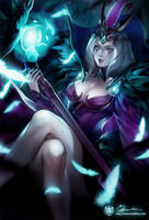 LoL: Ravenborn Leblanc by ippus