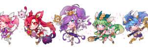 LoL : Star Guardians Team A