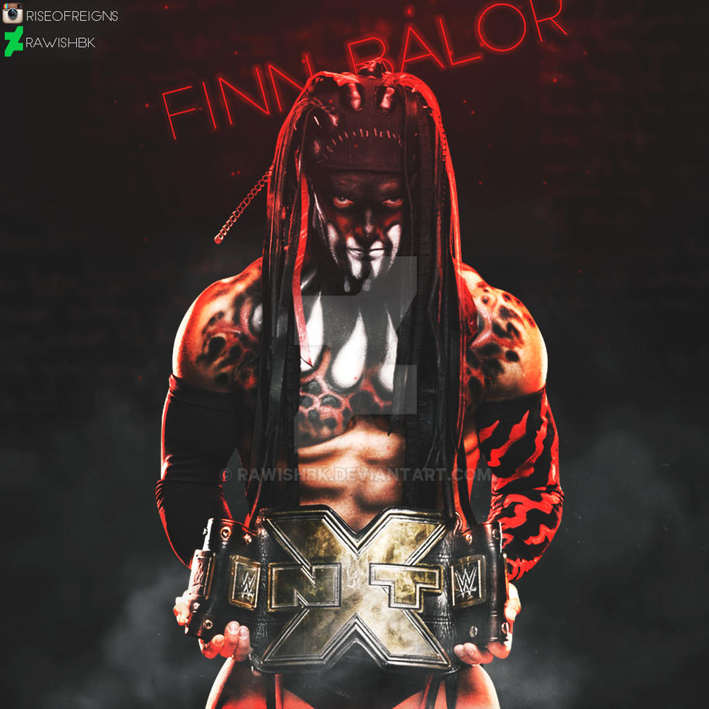 how to draw finn balor