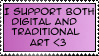 i support stamp by kaede-kasumi